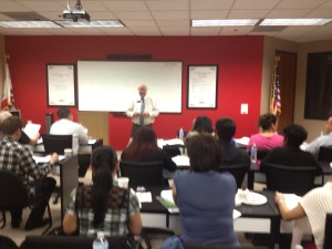 Jim Forde, Director of Approved Real Estate Academy Teaching Real Estate Practice